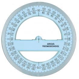 Goniometro 360° TECNOSCHOOL 12cm