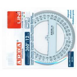 Goniometro 360° UNI 12cm