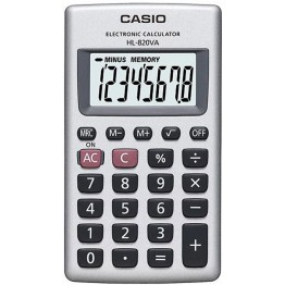 Casio HL-820VA Calcolatrice tascabile