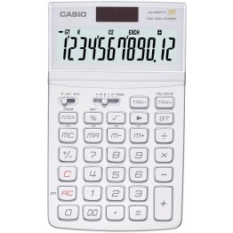 Casio JW-200TV-WE Calcolatrice da tavolo