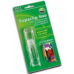 SUPACLIP -SPARA-MOLLE FINO A 30 FOGLI
