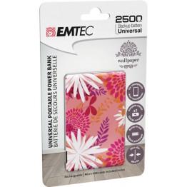 Emtec POWER ESSENTIAL FLOWER 1 power bank 2500mAh