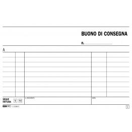 BLOCCO BUONO DI CONSEGNA, 50PAGINE  PER 2 COPIE, AUTORICALCANTE - PREZZO SINGOLO, ORD. MINIMO 5PZ