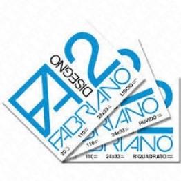 FABRIANO F2 - ALBUM DA DISEGNO COLLATO LISCIO 33x48cm