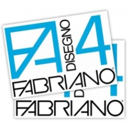 FABRIANO F4 - ALBUM DA DISEGNO RUVIDO 33x48cm