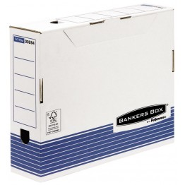 BANKERS BOX SYSTEM - CONTENITORE ARCHIVIO A4, D.8