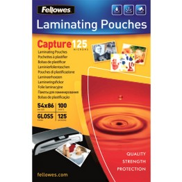 CAPTURE - POUCHES IN POLIESTERE 54x86mm, SPESSORE 125my