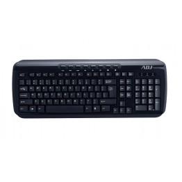 Tastiera multimedia SHINE TA218 con cavo USB