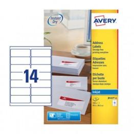 etichette adesive in fogli A4 - per buste e pacchi