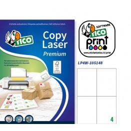 etichette adesive in fogli A4 - per corrispondenza