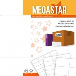 Etichette adesive in fogli A4