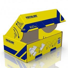 POSTALBOX - SCATOLA PER SPEDIZIONI POSTALI,  FORMATO MEDIO 35x20x12cm - 1PZ