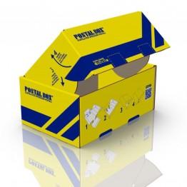 POSTALBOX - SCATOLA PER SPEDIZIONI POSTALI,  FORMATO GRANDE 40x27x17cm - 1PZ