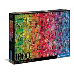 Color Boom, Collage - puzzle 1000pz
