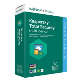Kaspersky total security 3 utenti - 1 anno