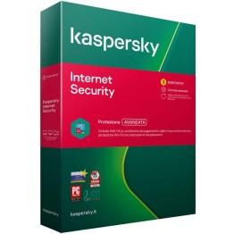 Kaspersky Internet Security Pro 3 Utente - 1 Anno