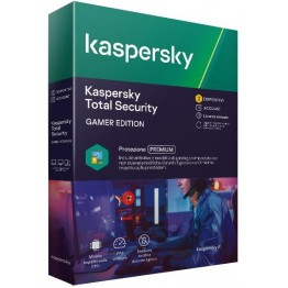 Kaspersky total security Gamer Edition 2 utenti - 1 anno