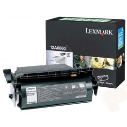 Lexmark 12A6860 toner return program nero