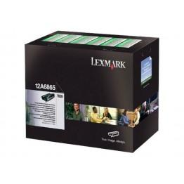 Lexmark 12A6865 toner return program nero