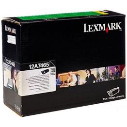 Lexmark 12A7465 toner return program nero