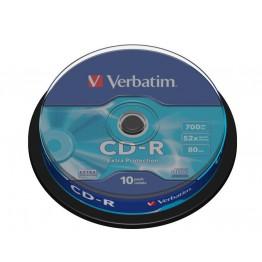 Verbatim CD-R 700MB 80min 10pz