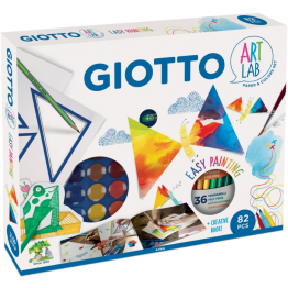 GIOTTO - SET SUPER CREATIVO EASY PAINTING