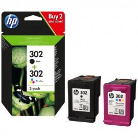 HP 302 cartuccia Multipack CMYK